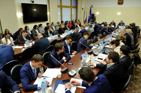 Заседание Экспертного совета по законодательному обеспечению развития финансовых технологий