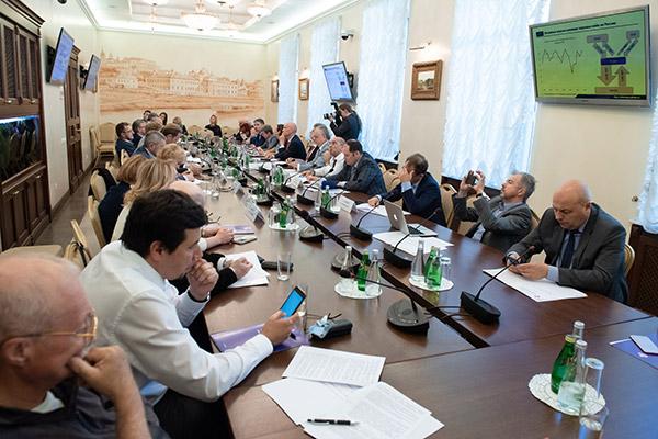Совместное заседание комиссий Российского союза промышленников и предпринимателей по банкам и банковской деятельности, финансовым рынкам, страховой деятельности, аудиторской деятельности.