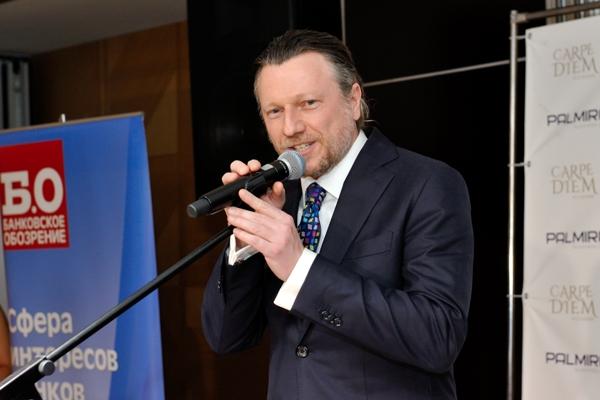 Дмитрий Равкин, генеральный директор проекта «Банковское обозрение» и премии «Финансовая сфера»