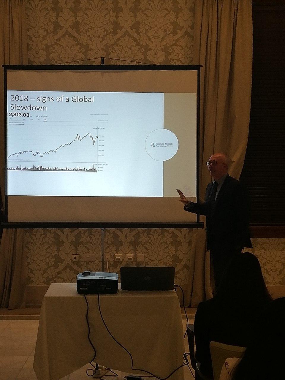 Член Комитета рассмотрения споров Финансовой Комиссии Роберто д'Амброзио принял участие в ежегодном собрании Ассоциации Финансовых Рынков Мальты