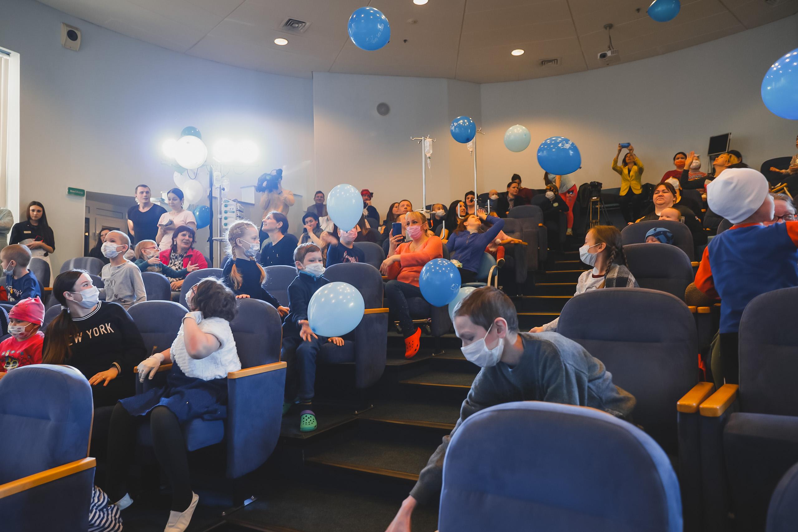 НИИ детской онкологии в Санкт-Петербурге впервые стал участником программы «Мир без слез»