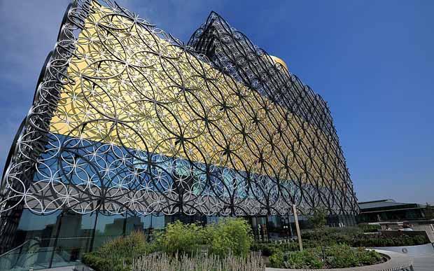 2013 год – новая библиотека в Бирмингеме, Британия