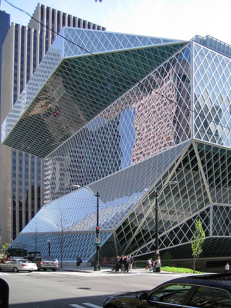 2005 год – новая библиотека Сиэтла, США